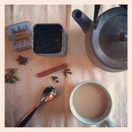 Cacao Rose Chai